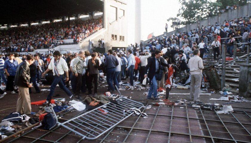 La sera del 29 maggio 1985 la strage dell'Heysel con 39 tifosi morti e 600 feriti