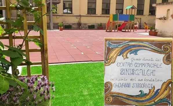 """Salerno, domani inaugurazione cortile e orto didattico alla """"Vicinanza"""" donato dal Rotary"""