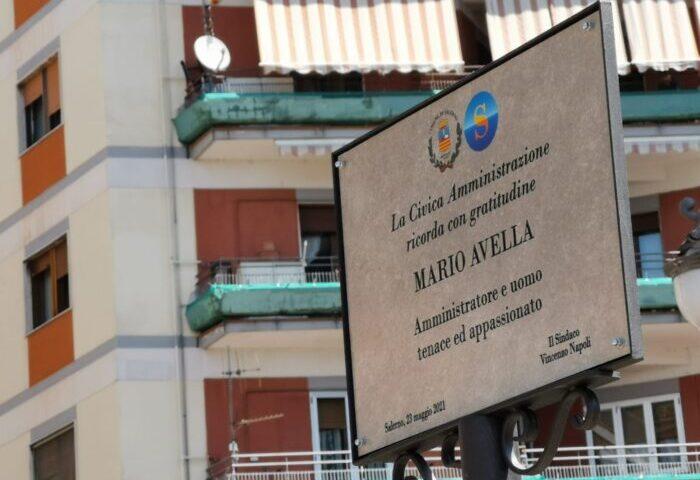 Salerno, il Comune ricorda il socialista Mario Avella con una targa