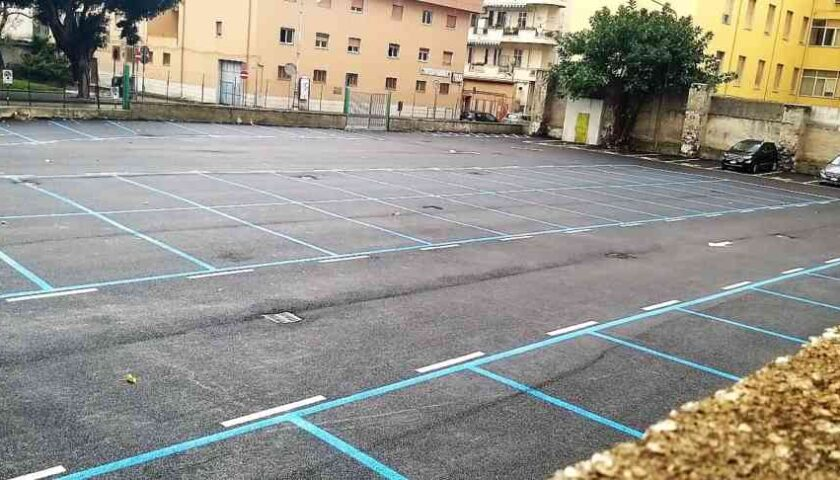 Salerno, attivo il parcheggio con 70 posti al Genio Civile