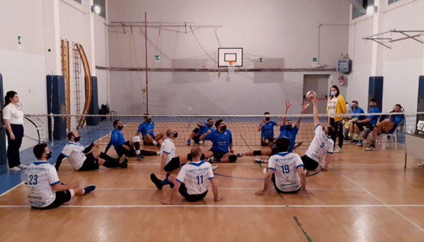 Polisportiva Salerno Guiscards, il team maschile di Sitting Volley lotta ma cede il passo al Parete