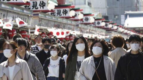 Covid, in Giappone nuovi picchi del virus