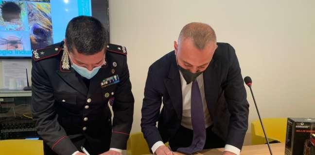 Siglato accordo tra Carabinieri e Monti Picentini