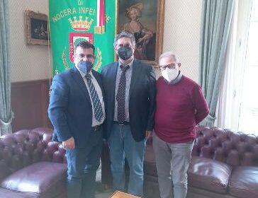 Nocera Inferiore, incontro al Comune con Libera Associazione Forense