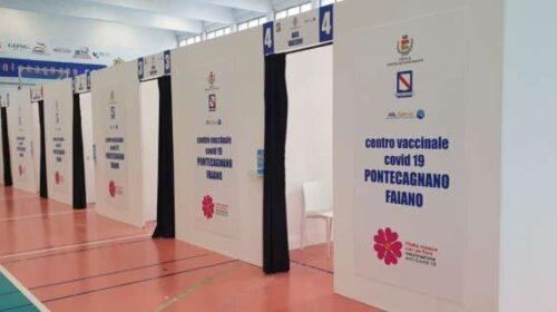 A Pontecagnano Faiano somministrate 10mila dosi di vaccino anti covid