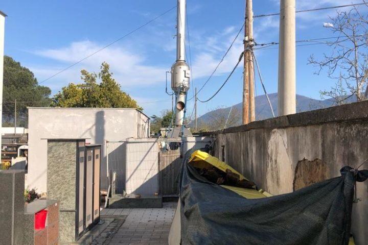 """Cimitero nel degrado a San Marzano sul Sarno, la denuncia del gruppo consiliare """"Noi sempre tra voi"""""""