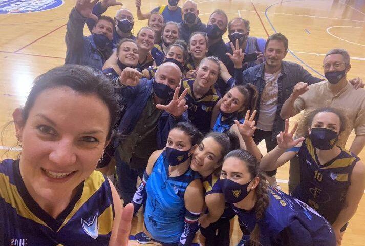 Polisportiva Salerno Guiscards, il team volley espugna anche il campo di Pontecagnano