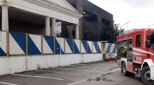 ROCCAPIEMONTE,  SOPRALLUOGO PRESSO MULTITASK:  LA STRUTTURA SARA' DEMOLITA
