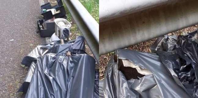 """Strada invasa dai rifiuti, il Comitato civico di Dragonea denuncia: """"Scempio ambientale"""""""