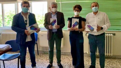 Tablet da Palinuro per l'ospedale di Sapri