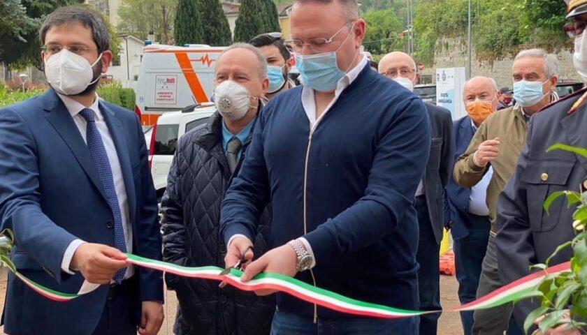 Pellezzano, inaugurato centro vaccinale