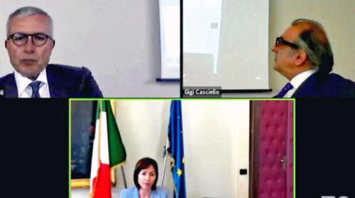 A Confindustria presentazione degli interventi Pnrr con il ministro Carfagna