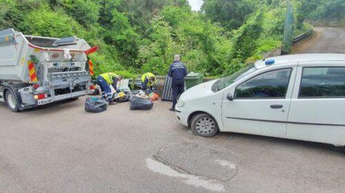 CAVA DE' TIRRENI, RIFIUTI: ALTRE 4 PERSONE MULTATE