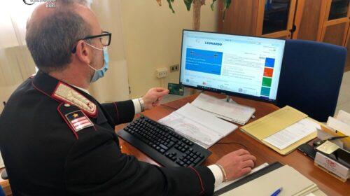 Vietri sul Mare, scomparsi 12mila euro dal conto online: 4 nei guai