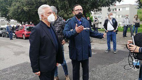 """Salerno, appello del sindaco agli 80enni: """"Vaccinatevi"""""""