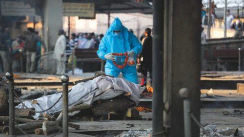 Covid, in India è record di morti: 3780 in un giorno
