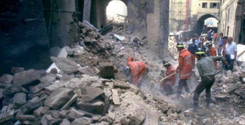 Il 27 maggio 1993 la strage di Firenze con morti, feriti e danni agli Uffizi