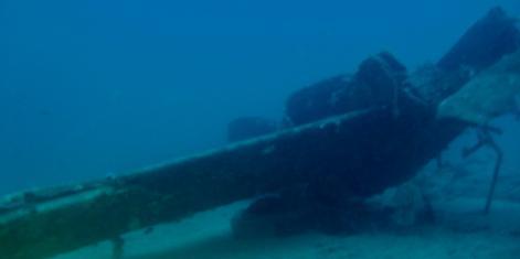 Resti dell'aereo britannico della Raf recuperati in mare a Castellabate