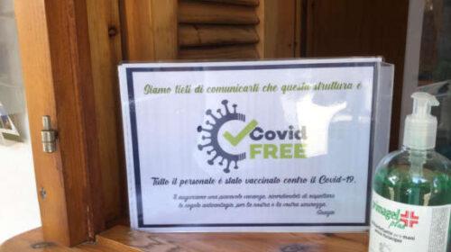 A Camerota una targa per le strutture covid free