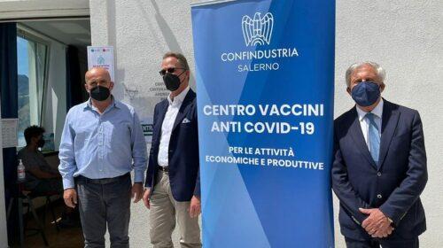 Confindustria, 500 operatori turistici della Costiera Amalfitana aderiscono alla campagna vaccinale