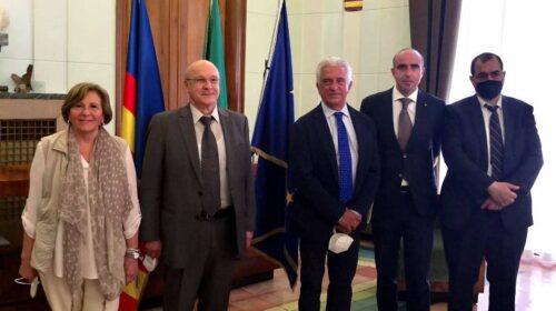 Visita a Salerno e Cetara dell'ambasciatore d'Algeria in Italia: partenariati e opportunità per imprese