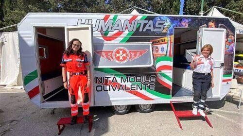 Salerno, presidio sanitario Humanitas per pescatori e passeggeri traghetto al Masuccio