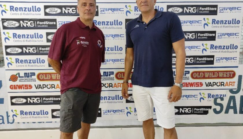 La Virtus Arechi riparte da coach Giampaolo Di Lorenzo