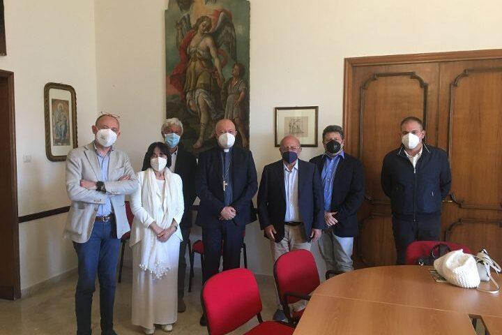 Polo Museale nell'ex tribunale di Salerno, il comitato promotore ricevuto dall'arcivescovo Bellandi