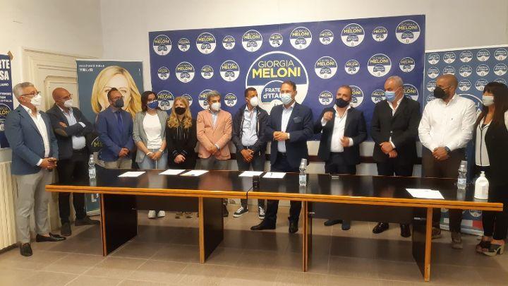 """Fdi, aderiscono cinque consiglieri comunali di Bellizzi. Fabbricatore: """"Il partito cresce e si rafforza nella Piana del Sele"""""""