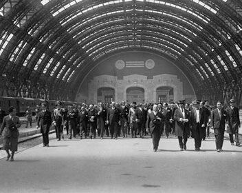 Il 1 luglio di 90 anni fa il taglio del nastro della stazione centrale di Milano