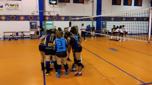 Polisportiva Salerno Guiscards, il team volley perde al tie break in casa di Oplonti