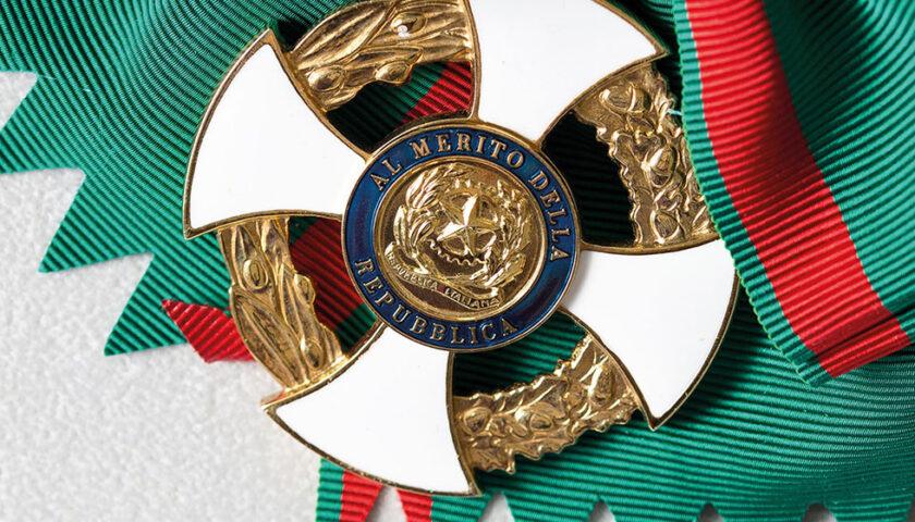 Onorificenze al merito della Repubblica consegnate dal prefetto di Salerno