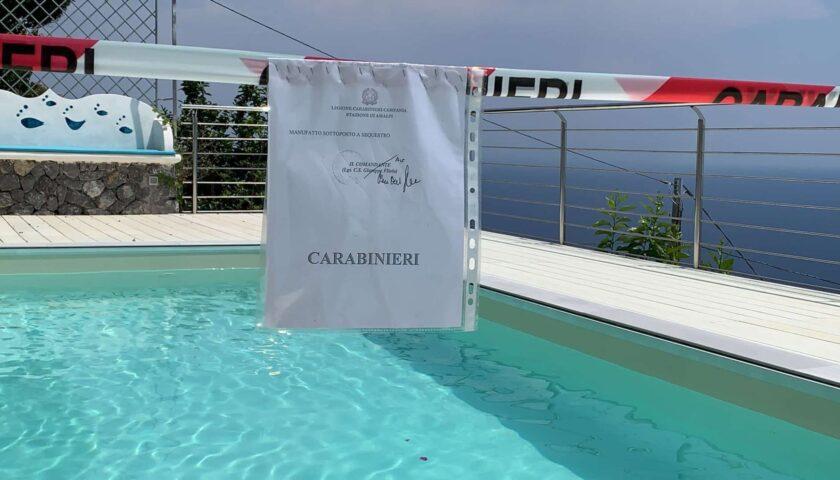 Abusivismo in Costiera Amalfitana, sequestri e 11 denunciati