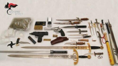 Armi e droga in casa, a Pagani finisce in manette un 42enne