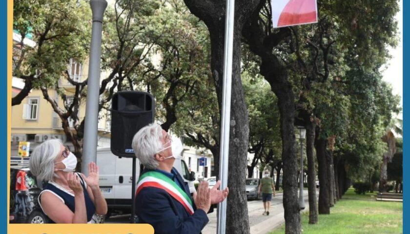 """Salerno, inaugurata stamani piazza Dante Alighieri. Il sindaco: """"Atto doveroso e dovuto"""""""