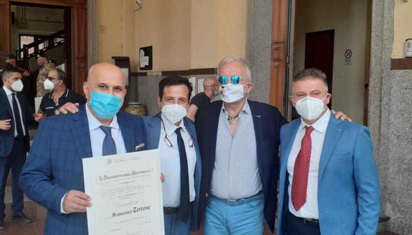 Altro prestigioso riconoscimento per un cittadino di Roccapiemonte: Gennaro Torino è Cavaliere al Merito della Repubblica