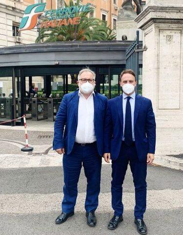 Incontro Trenitalia, Piero De Luca (PD): Investimenti nelle aree comuni della Stazione di Salerno e ripresa Alta velocità per il Cilento