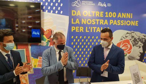 Garavaglia ha inaugurato a Napoli la Bmt, prima fiera sul turismo che si svolge in presenza