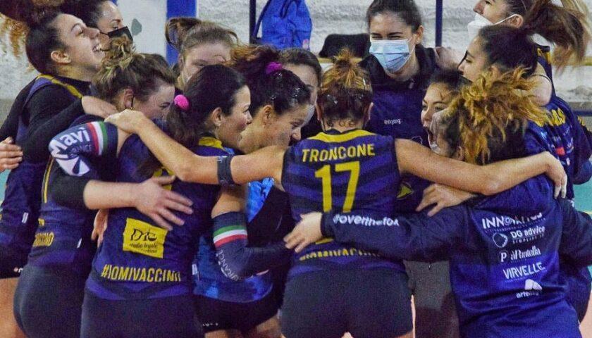 Polisportiva Salerno Guiscards, il team volley qualificato per la finale con due giornate d'anticipo