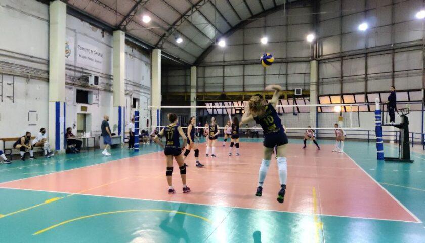 Polisportiva Salerno Guiscards, il team volley si aggiudica lo scontro diretto con Oplonti