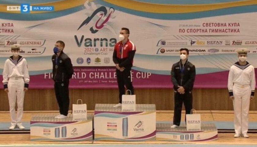 Ginnastica Artistica, Salvatore Maresca conquista l'argento alla World Challenge Cup