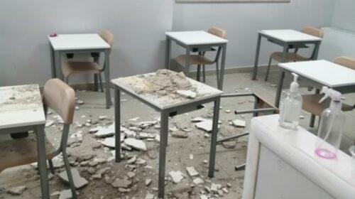 Cadono pezzi di intonaco in classe, paura ad Altavilla alla primaria Scanno: scuola chiusa