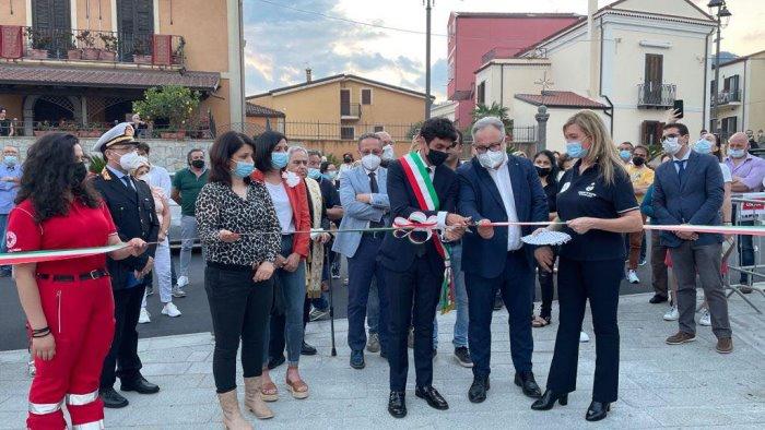 A Sapri inaugurata la nuova piazza del Plebiscito