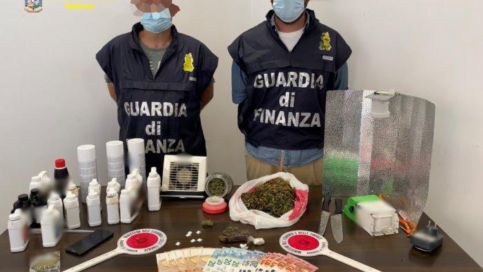 Droga dalla Spagna, arrestati due 20enni a Salerno e nel Cilento