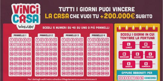 Battipaglia, gratta e vince una casa da 200mila euro