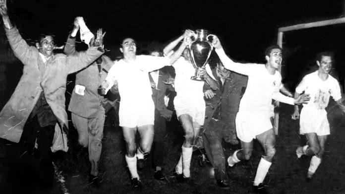 Il 13 giugno 1956 il Real Madrid vince la prima coppa Campioni