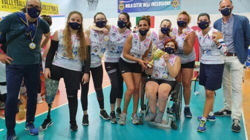 Invicta Guiscards, le foxes sono vicecampionesse regionali nel campionato di Sitting Volley