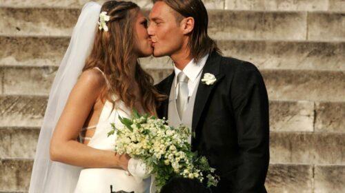 Il 19 giugno 2005 il sì a Roma tra Francesco Totti e Ilary Blasi
