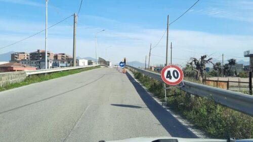 Angri, ponte di via Stabia interdetto al traffico fino al 23 luglio