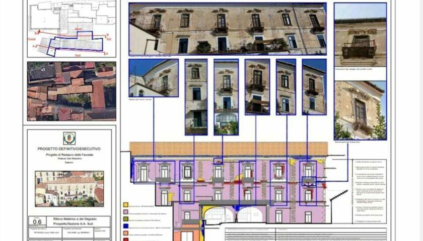 Partiti i lavori a Salerno per palazzo San Massimo